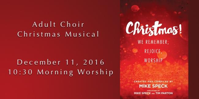Christmas Musical 2016